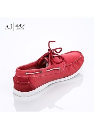 Armani Jeans Ayakkabı Kırmızı